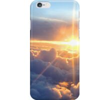 Sunset in the Clouds iPhone Case/Skin