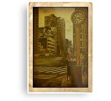 Around the clock... 5th Avenue... Metal Print