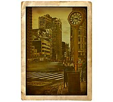 Around the clock... 5th Avenue... Photographic Print