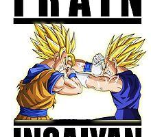 Train Insaiyan - Vegeta & Goku by fantasycherguii