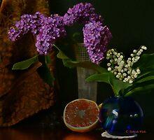 Spring Flowers by Gilberte