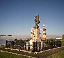 Royal Marines Memorial, Plymouth, Devon UK by Jeremiah