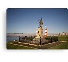 Royal Marines Memorial, Plymouth, Devon UK Canvas Print