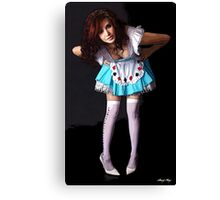 Play With Me, Darling Canvas Print