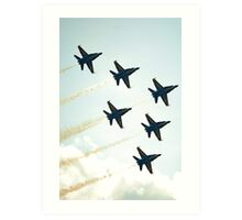 Angels Formation Flight Art Print