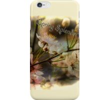 Spring Splendor - Spring Flowers Design iPhone Case/Skin