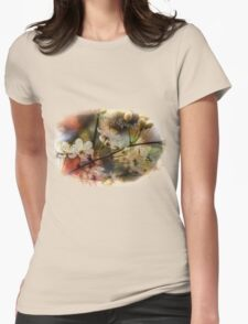 Spring Splendor - Spring Flowers Design Womens Fitted T-Shirt