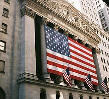 New York City NYSE by ShaunaRe