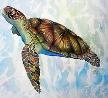 Sea Turtle Dream by Valerie Flynn