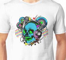 Skull DJ Unisex T-Shirt