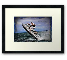 Some Don't - Sea Doo Framed Print