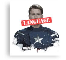 Age of Ultron - Language Canvas Print