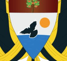 Liberland - To live and let live Sticker