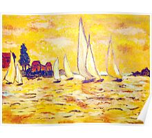 Yellow Sails Poster
