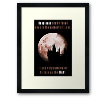 Harry potter: Happiness Framed Print