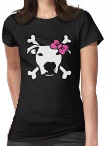 Lita Crossbones Womens Fitted T-Shirt