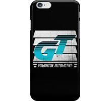 Edmonton Auto - Cyan & White - Slotted Up iPhone Case/Skin