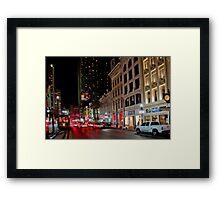 Canal Street NOLA Framed Print