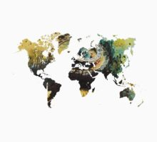 Map of the world time  Kids Clothes