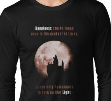 Harry potter: Happiness Long Sleeve T-Shirt