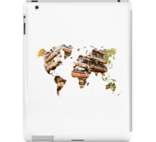 Map of the world architecture iPad Case/Skin