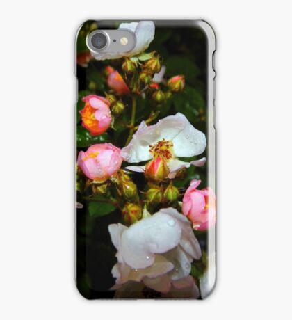 My Wild Prairie Roses In The Rain iPhone Case/Skin