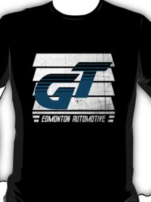 Edmonton Auto - Teal & White - Slotted Up T-Shirt