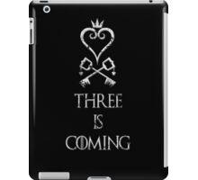 Three is coming iPad Case/Skin