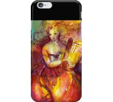 SAPHO PLAYING LYRA iPhone Case/Skin