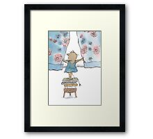 Wake up, it's a beautiful morning! Framed Print