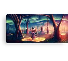 Heffalumps and Woozles Canvas Print