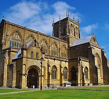 Sherborne Abbey by lezvee