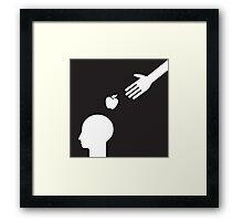 get an idea Framed Print