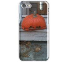 Halloween Is Over - Depressed Jack-O'Lantern iPhone Case/Skin
