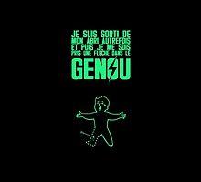 Vault Boy - Genou (FR) - Vert by Nemesis666first