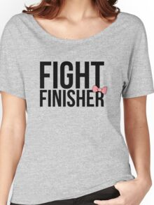 """Fight Finisher""  Women's Relaxed Fit T-Shirt"