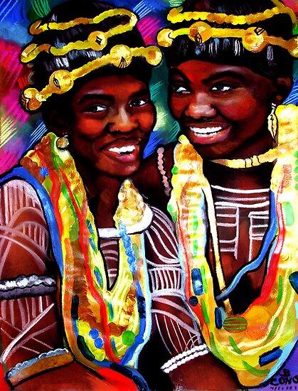 Krobo Women by Beth Consetta Rubel