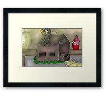 Gingerbread Assassin Framed Print