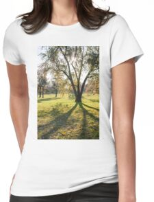 tree huge branches Womens Fitted T-Shirt