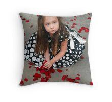 Petal Princess Throw Pillow