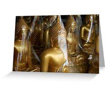 Buddha-To-Go Greeting Card