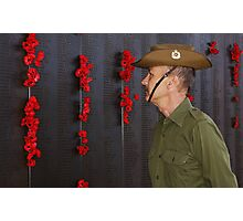 Anzac - Remembering Those Lost 1 Photographic Print