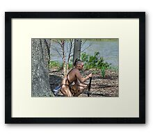 Muzzle Loader Framed Print