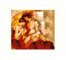 Seduction after Klimt.... Art Print