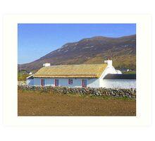 An Irish Cottage Art Print