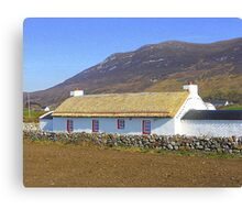 An Irish Cottage Canvas Print