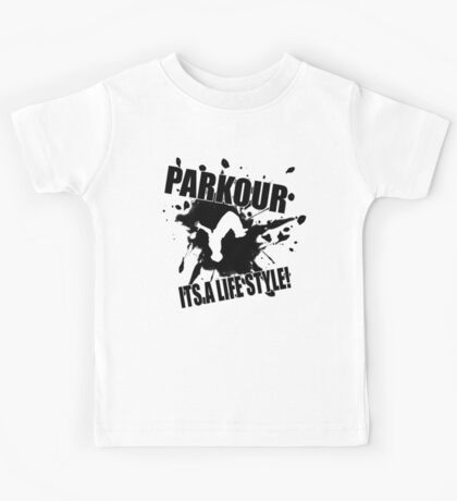 Parkour - Its A Life Style Kids Tee