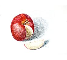 Red Apple Photographic Print