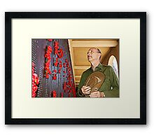 Anzac - Remembering Those Lost 3 Framed Print