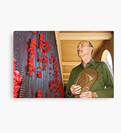 Anzac - Remembering Those Lost 3 Canvas Print